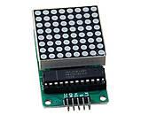 Модуль светодиодной матрицы 8x8 с матричным индикатором 1088AS и драйвером MAX7219 MAX7219CNG, фото 2