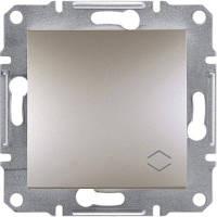 SHNEIDER ELECTRIC ASFORA Выключатель проходной одноклавишный IP44 Бронза