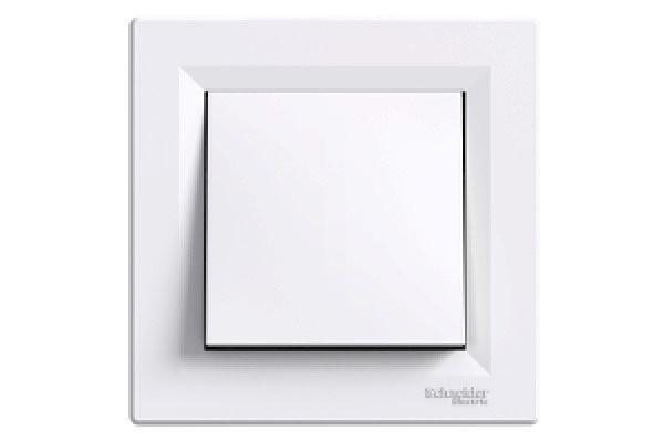 SHNEIDER ELECTRIC ASFORA Выключатель проходной перекрестный Белый
