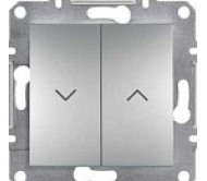 SHNEIDER ELECTRIC ASFORA Выключатель для жалюзи Сталь