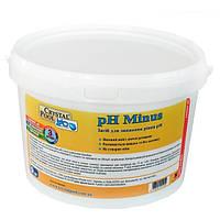 pH-минус для бассейна Crystal Pool гранулированный, 1 кг