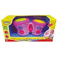 "Музыкальная интерактивная игрушка ""Барабаны Бонго"", ТМ BeBe lino, 57032"