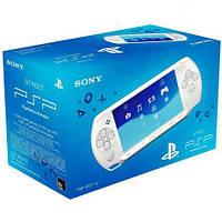 Белая игровая приставка PSP E-1008 IW,PSP Street E-1008 IW