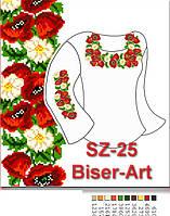 Заготовка для вишивки жіночої сорочки CZ-25 на габардині