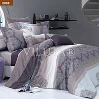 Комплект постельного белья Семейный размер Viluta Ранфорс( 2 пододеяльника ) арт. 2008