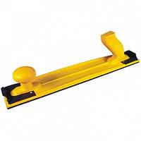 Ручной гибкий шлифовальный рубанок H1 NCPro 400мм х 70мм, желтый