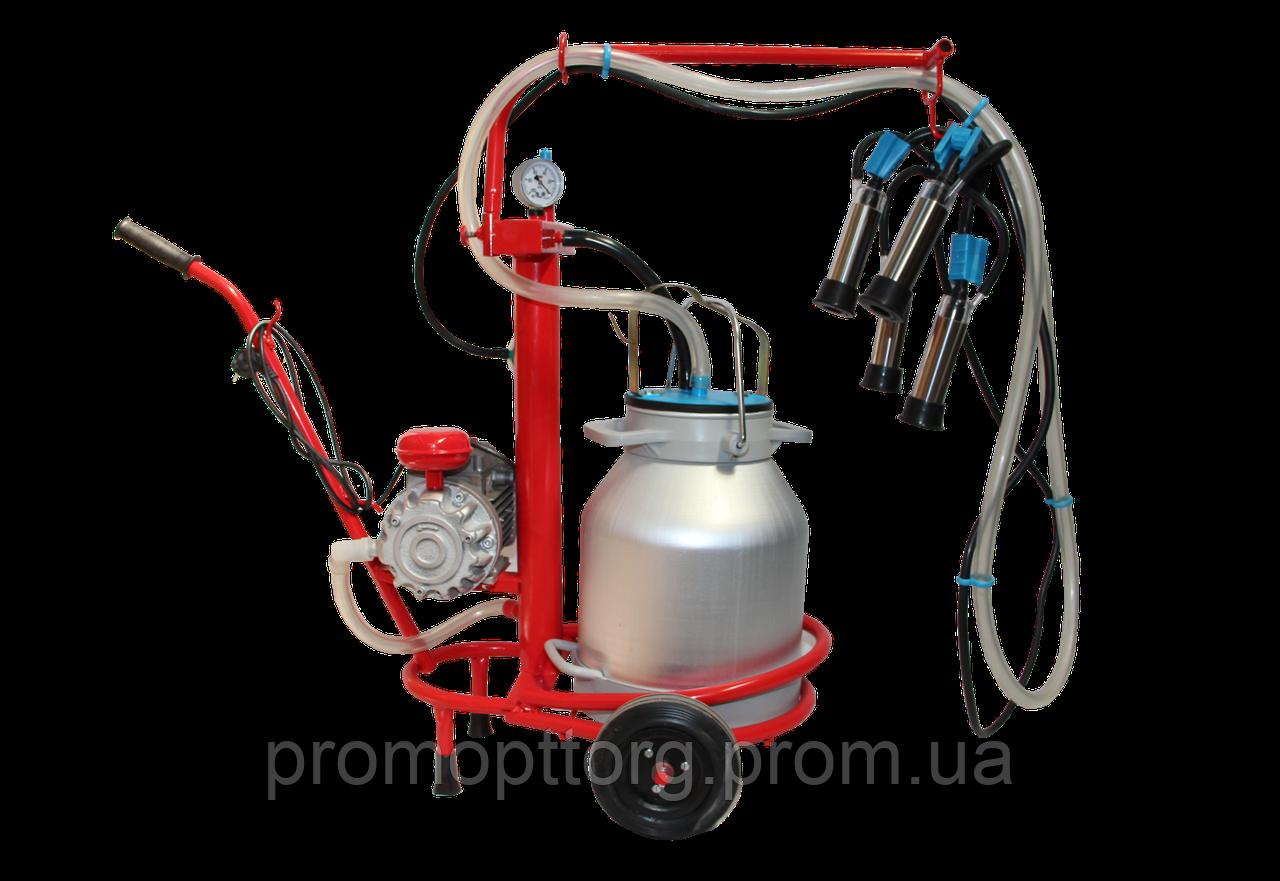 Доильный аппарат для коров Березка-1 (стаканы из нержавеющей стали)