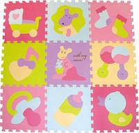 Детский игровой коврик-пазл «Маленький кенгуренок» GB-M129KB *ю