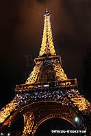 """Фотообои: """"Ночная башня Эйфеля"""""""
