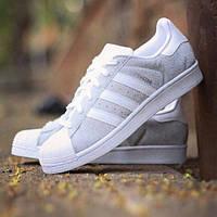 """Adidas Superstar """"Silver/White"""""""