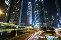 """Фотообои: """"Трафик в ночном городе"""""""