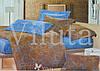 Комплект постельного белья семейный размер ТМ Вилюта хлопок 100%  Ранфорс арт. 9986