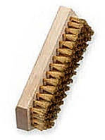 Щетка для бейцевания Lessmann 150x50 мм латунная гофрированная проволока