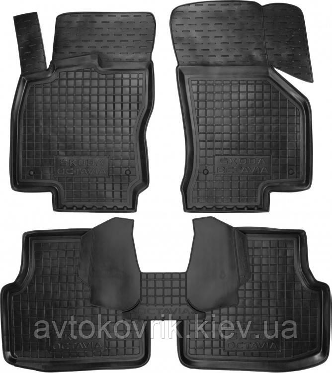 Полиуретановые коврики в салон Skoda Octavia III (A7) 2013- (AVTO-GUMM)