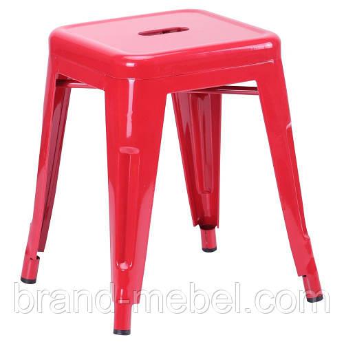 Табурет Loft Metal (M-504C) цвет красный