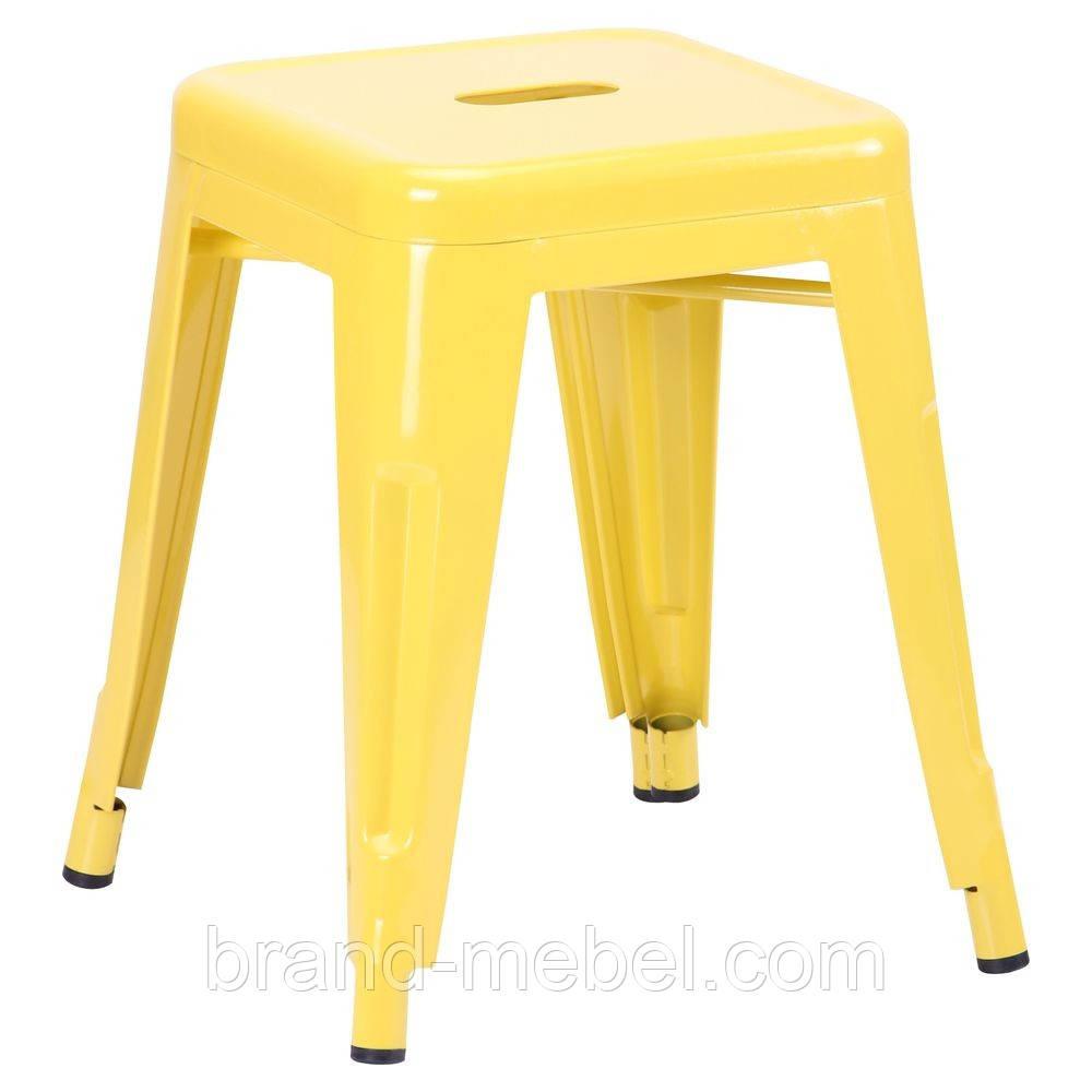 Табурет Loft Metal (M-504C) цвет желтый