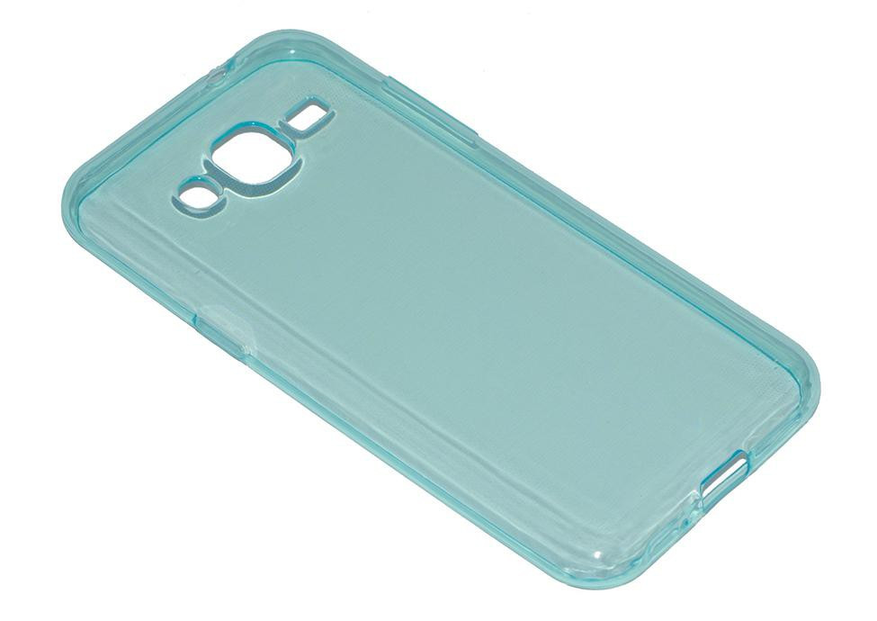 Силиконовый чехол Ultra-thin на Samsung Galaxy J2 SM-J200H Turquoise