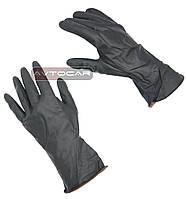 Перчатки полиуретановые: масло стойкие  / цвет: черный