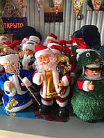 Новогодняя игрушка поющая, Санта Клаус. Оптом. опт