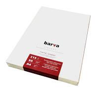"""Фотобумага Barva """"Fine Art"""", матовая, ярко-белая, для репродукций, A4, 215 г/м2, 50 л (IP-ZA215-098)"""