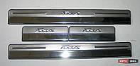 Ford Focus Mk3 накладки порогов дверных проемов
