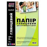 Бумага фото NewTone, глянцевая, 230 г/м2, A4, 50л (G230.50)