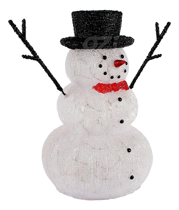 Акриловый Снеговик 60 см 160LED