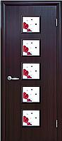 """Двери межкомнатные экошпон с рисунком """"ФОРА"""""""