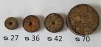 Торфяные диски (таблетки) Ellepress ø27мм (2200 шт/упаковка) , фото 1