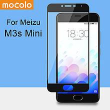 Защитное стекло Mocolo 2.5D 9H на весь экран для Meizu M3s черный