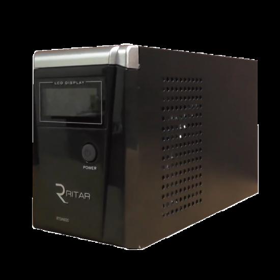 Бесперебойник RITAR RTSW-1500 LCD - ИБП (24В, 1050Вт) - инвертор с чистой синусоидой