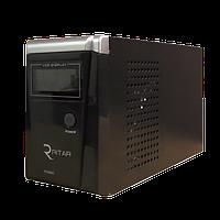 Бесперебойник RITAR RTSW-800 LCD - ИБП (12В, 480Вт) - инвертор с чистой синусоидой
