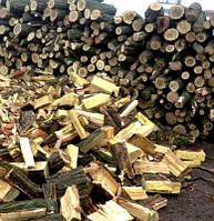 Колотые дрова. Акация, Дуб