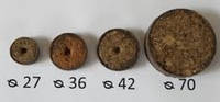 Торфяные диски (таблетки) Ellepress ø70мм (600шт/упаковка), фото 1