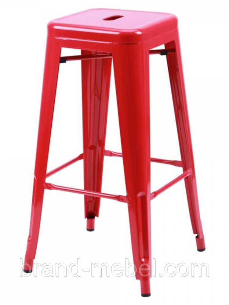 Табурет Хокер Loft Metal (M-504A) цвет красный