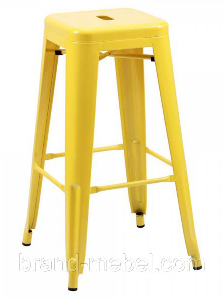 Табурет Хокер Loft Metal (M-504A) цвет желтый