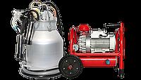 Доильный апарат Буренка-1 НЕРЖАВЕЙКА (аппарат индивидуального давления со стаканами из нержавейки), фото 1
