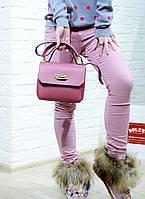 Женские штаны брюки розовые Emy Gee