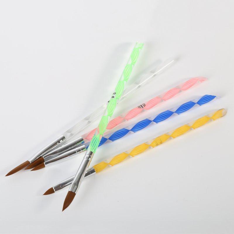 Набор кистей (5 шт) для художественных работ, различного размера