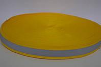Лента со светоотражательной полосой на ткани