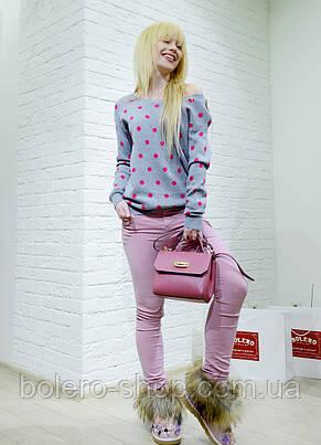 Женские штаны брюки голубые Emy Gee, фото 2