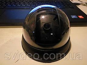 Муляж камеры видеонаблюдения, купольная камера обманка с индикатором