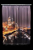 Фото шторы Ночная жизнь 2
