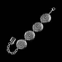 Браслет женский из металла Солнце-дождь - Этнические украшения