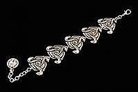 Женский этнический браслет Три змеи - Этнические украшения