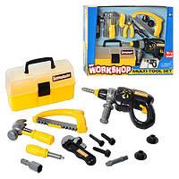 Игровой набор инструментов Keenway 12761 в чемодане