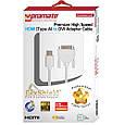 Кабель Promate linkMate-H4 HDMI - DVI 1.5 м Black, фото 8