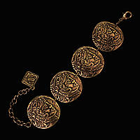 Браслет для женщин Монета царя Атея (бронза)
