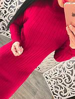 Женское вязанное платье DB-2583