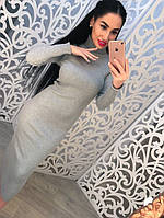 Женское вязанное платье DB-2584